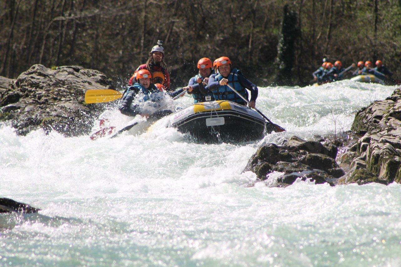 Rafting en Asturias 2016