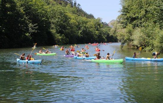 descenso del sella en canoa | riosella.net