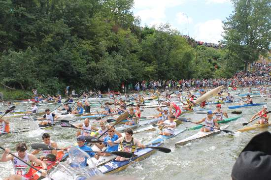 Salida fiesta de las Piraguas (foto 5)
