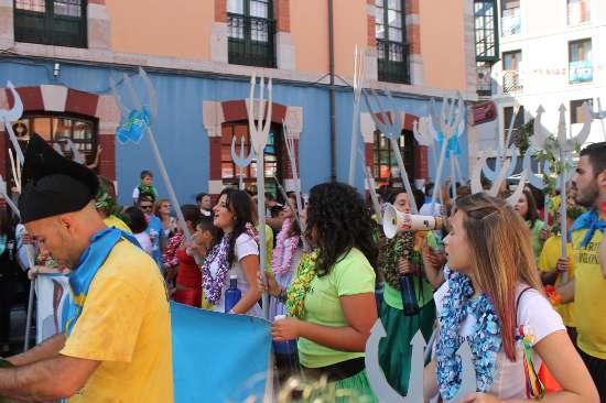 Desfile de la Fiesta de las Piraguas
