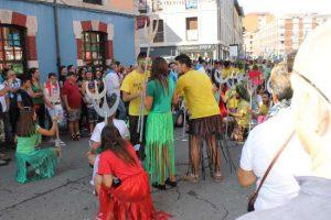 """Agrupación """"Los Tritones"""" en la Fiesta de las Piraguas"""