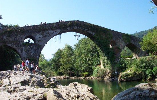 puente romano de cangas de onis - riosella.net
